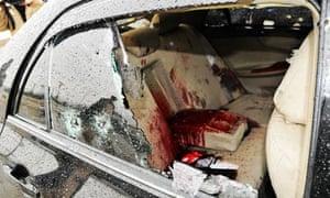 Shahbaz Bhatti assassinated, Islamabad, Pakistan - 02 Mar 2011