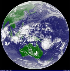 Satellite Eye on Earth: AUSTRALIA/
