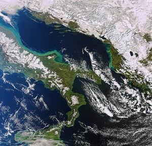 Satellite Eye on Earth: Italian Peninsula