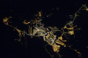 Satellite Eye on Earth: Brasilia at night