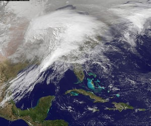 Satellite Eye on Earth: Historic Winter Storm Moves Across the US