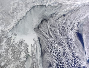 Satellite Eye on Earth: The winter landscape of the Russian Far East