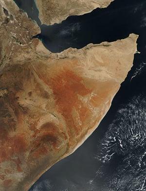 Satellite Eye on Earth: Horn of Africa