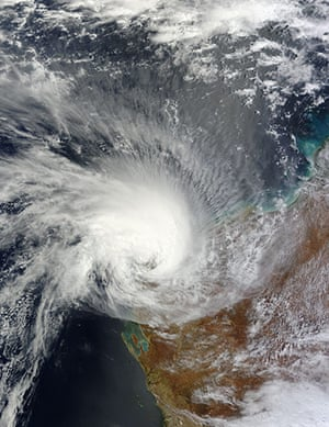 Satellite Eye on Earth: Tropical Cyclone Carlos