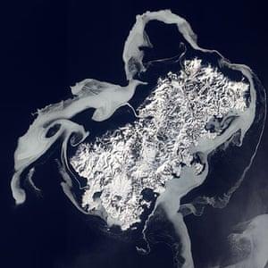 Satellite Eye on Earth: Sea Ice Surrounds Shikotan