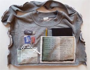 Girls Behind Bars: Bag displayed alongside Dose installation