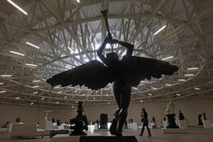 Soumaya Museum Mexico: Salvador Dali's sculpture, The Triumphant Angel