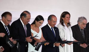 Soumaya Museum Mexico: the ribbon is cut to open the museum