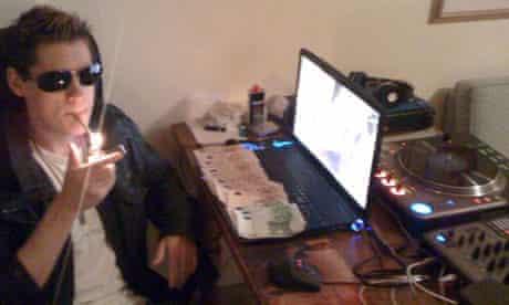 Internet crime website gang jailed. Pic shows: Nick Webber.