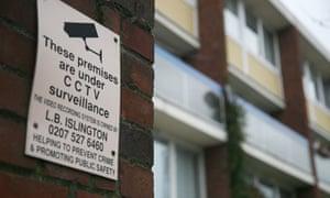CCTV in the premises