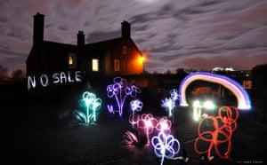 'No sale' Inverleith park lighting