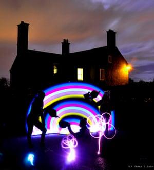 Light Rainbow at Inverleith Park