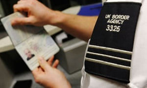 A UK Border Agency worker