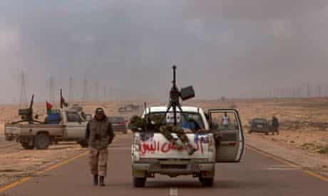 Muammar Gaddafi's troops