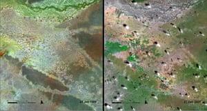 Dadaab refugee camp: Ifo, Dagahaley, and Hagadera refugee camps are located in Dadaab  , Kenya