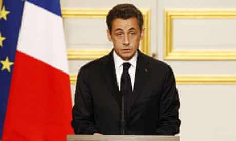 French president, Nicolas Sarkozy