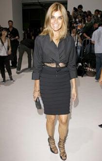 Carine Roitfeld, ex-editor of Paris Vogue