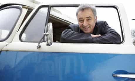 Author Frank Cottrell Boyce, who is writing a new series on the flying car Chitty Chitty Bang Bang