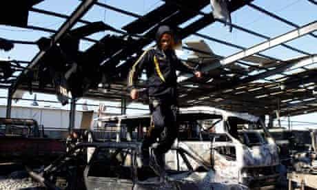 Libya, Tripoli air strikes