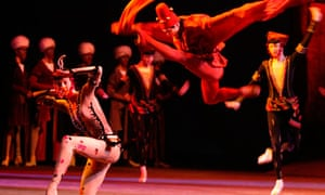 Bolshoi ballet dancer Gennady Yanin