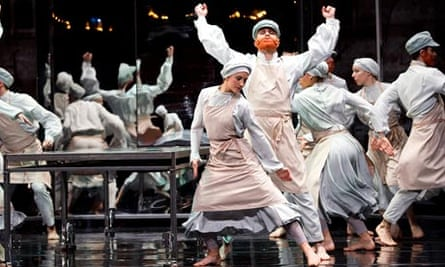 scene from the most incredible thing sadler's wells mackrell