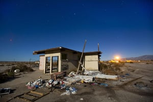 FTA: Jim Lo Scalzo  : An abandoned building lit by a full moon