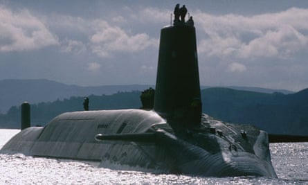 Submarines nuclear reactor