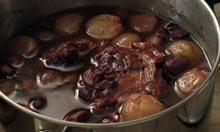 Richard Olney's coq au vin