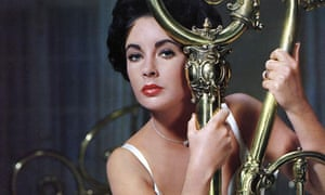 Elizabeth Taylor in Cat On A Hot Tin Roof, 1958