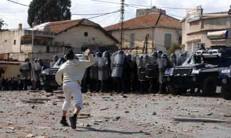 Protests in Algiers