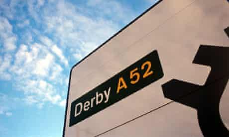 Derby A52 sign