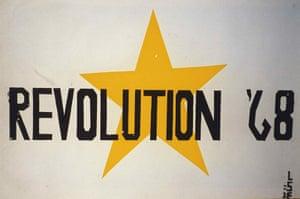 Poster Workshop: Revolution 68