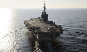 French aircraft carrier Charles-de-Gaulle