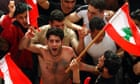 Lebanese pro-Syrian supporters of Hezbollah rally in Beirut