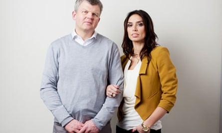 Daybreak presenters Adrian Chiles and Christine Bleakley