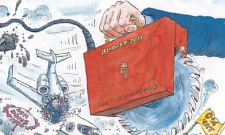 David Simonds on the budget