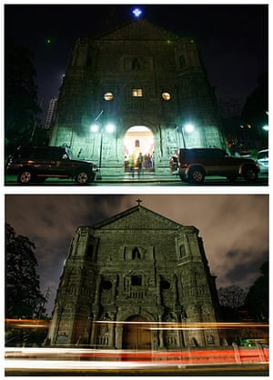 Earth Hour: Our Lady of Remedies Parish has her lights turned off for Earth Hour
