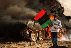 Libyans celebrate: Rebels recapture Ajdabiya