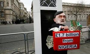 Anti-debt protester