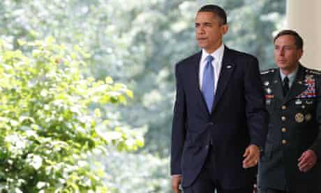 Barack Obama, David Petraeus