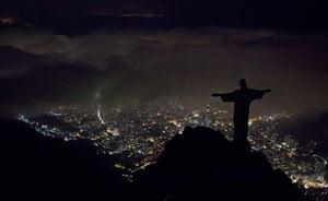Earth Hour: Christ the Redeemer , Rio de Janeiro , Brazil