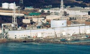 Fukushima Daiichi's reactors one to four