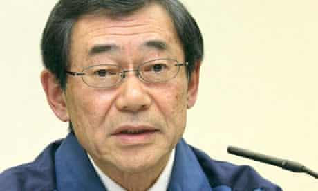 Masataka Shimizu, president of Tokyo Electric Power Co