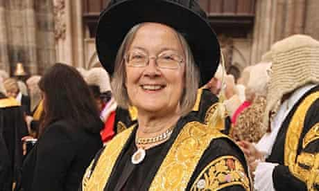 Baroness Hale of Richmond, the only woman justice of the UK supreme court