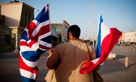 libya british french flag
