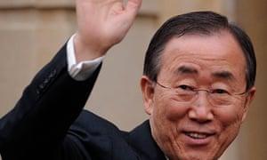 United Nations Secretary General Ban Ki-