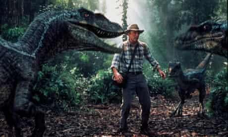 Raptors in Jurassic Park III