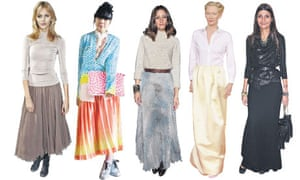 28ce6db468 Maxi skirts: how low can you go?   Fashion   The Guardian