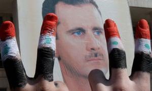 syria Bashar al-Assad poster