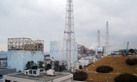 Damaged reactors at Fukushima nuclear plant